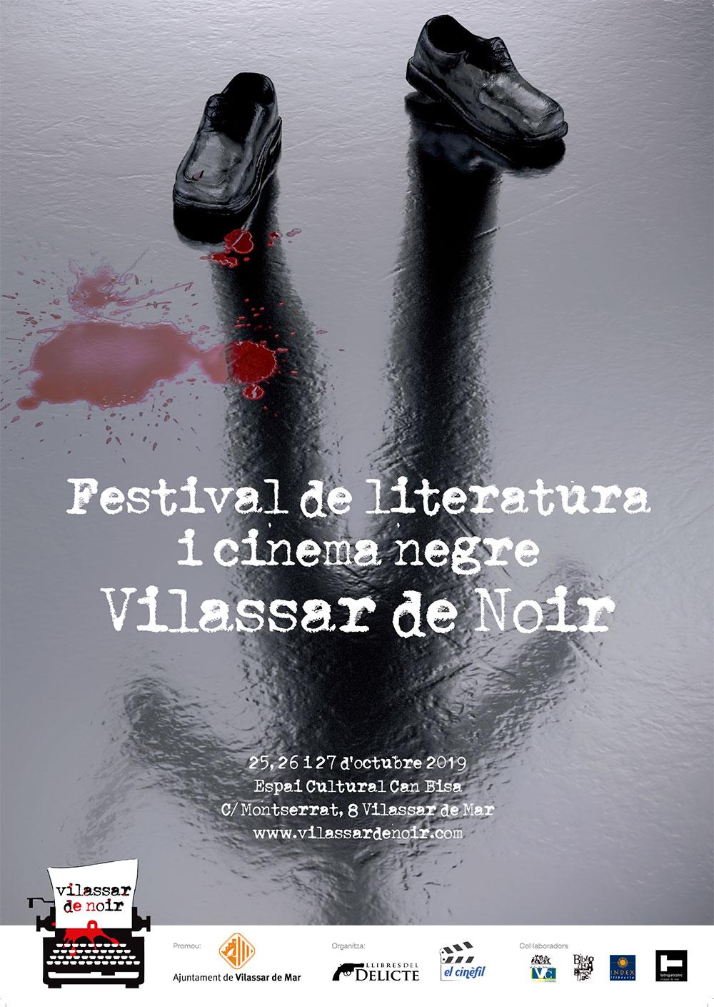 Festival de literatura i cinema negre Vilassar de Noir 2019