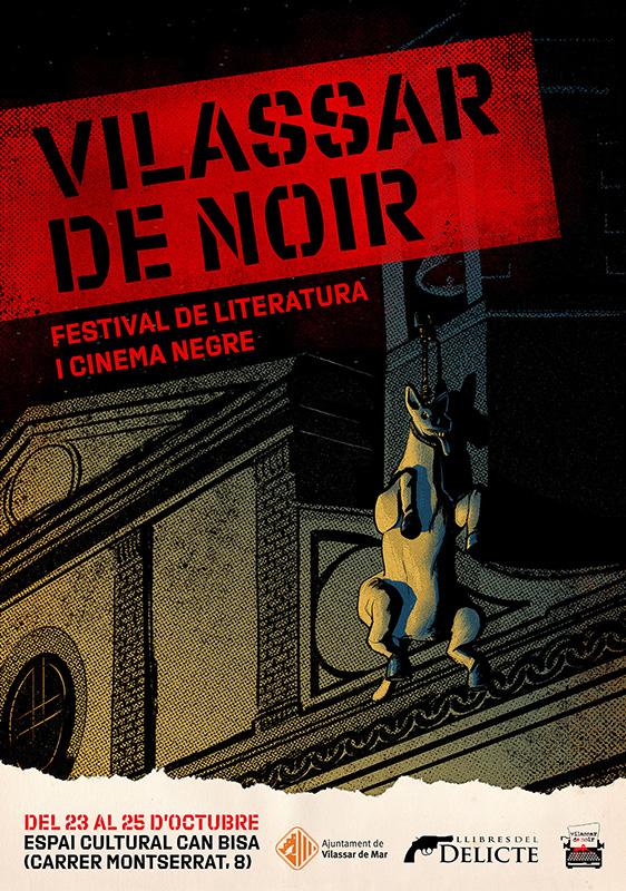 Festival de literatura i cinema negre Vilassar de Noir 2020